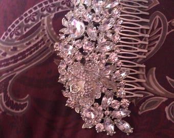 Crystal haircomb