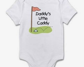 Daddy's Little Caddy Baby Onesie - Cute Onesie for Any Occasion Baby Shower Gift Baby Gift FAST SHIPPING!!