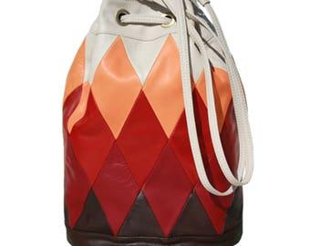 Big bucket Bag RED