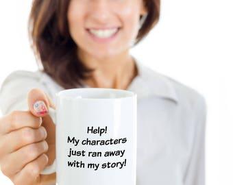 Funny Mug - Gift for Writer
