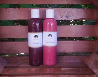 African Rose Shampoo; Delicate Conditioner