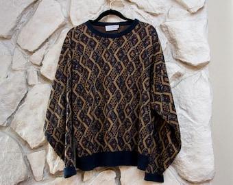 Old School Cool Grandpa Sweater