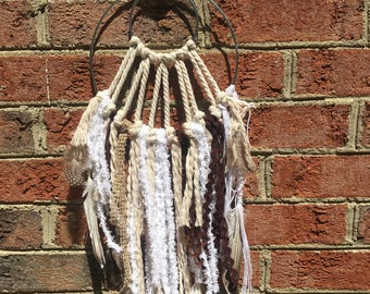medium handmade dreamcatcher