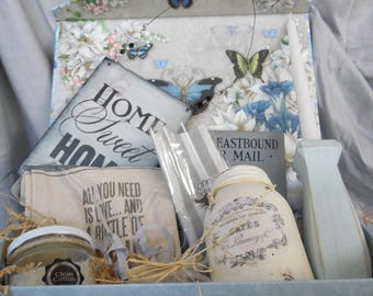 Butterfly Vintage Gift Box