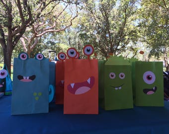 Little Monsters Goodie Bags