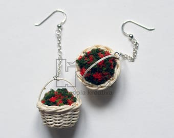 My little baskets Earrings