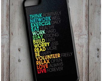 Crossfit Motivational Words, Workout Cool New Case Cover for any iPhone