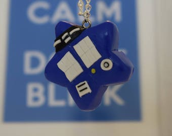 Doctor Who TARDIS Star Necklace