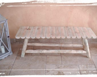 Solid wood bench-Solid wood bench
