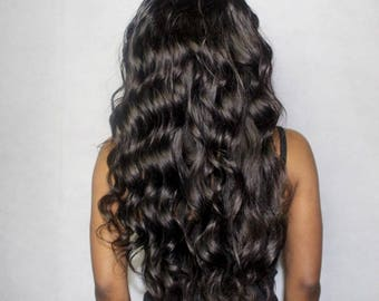 Body Wave Custom Made Human Hair Wig