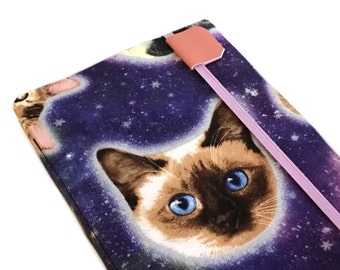 Kindle Paperwhite cover - Cats in Space - kindle cover - eReader case - galaxy print - kindle touch