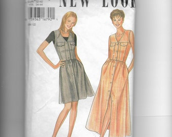 New Look Misses' Dress Pattern 6361