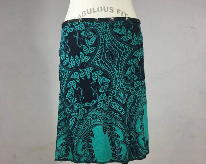 "Snap Around Skirt. ""Classic Portugal"" One size / Erin MacLeod"