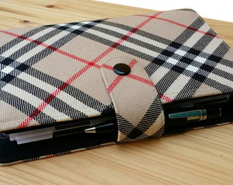 Tartan  Mini Happy Planner Cover  with optional planner