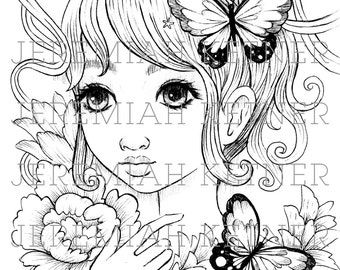 Flutter - Coloring Page