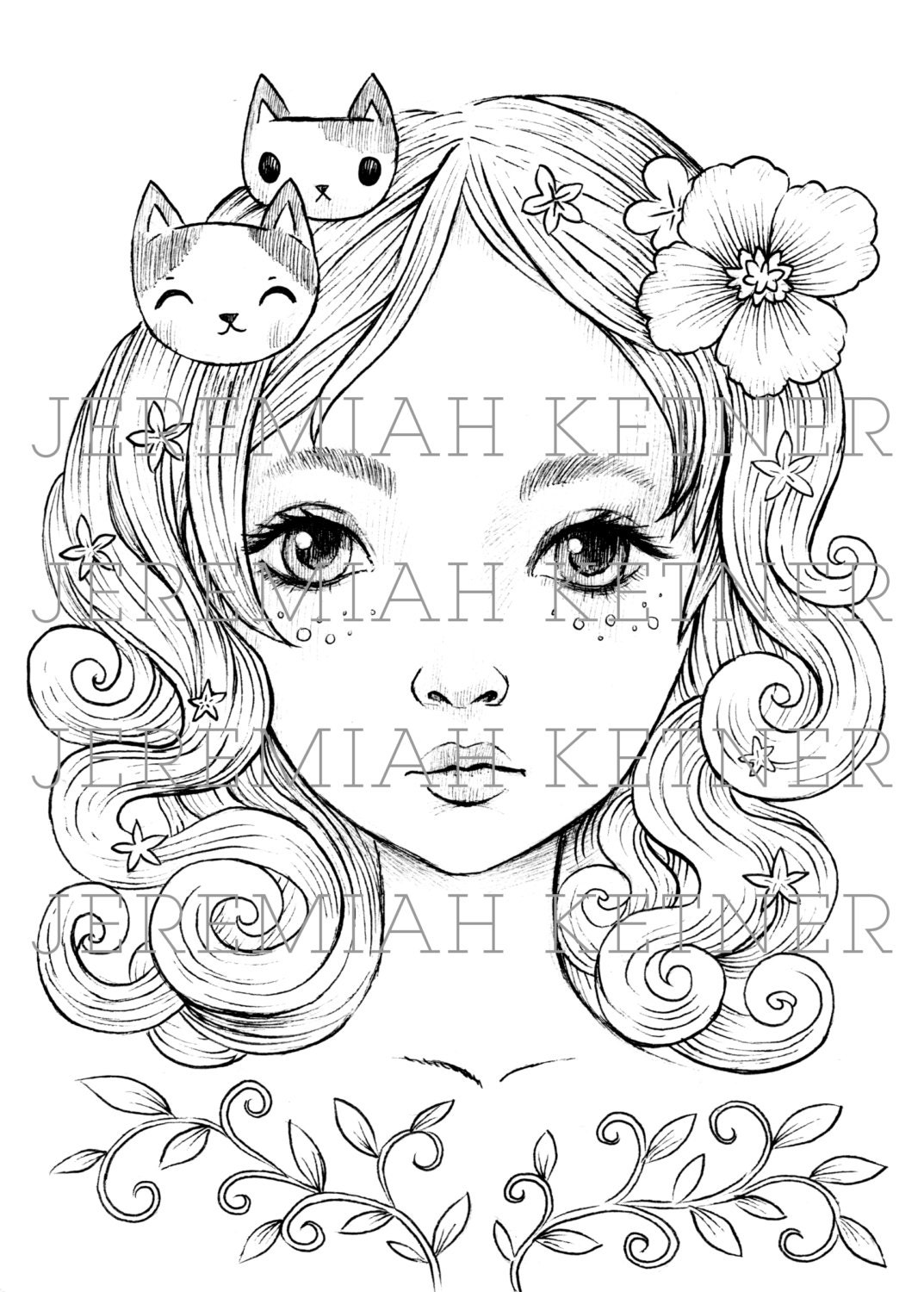 My Everything Coloring Page