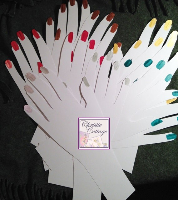 Hand displays for fingerless gloves 5 sets plus 5 singles for Free craft show listings