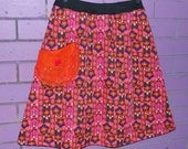 Groovy Goddess Retro Aline Skirt size Medium
