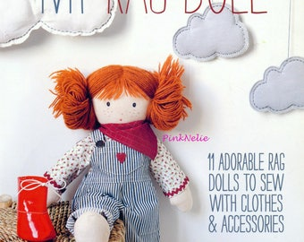 My RAG DOLL - English Craft Book