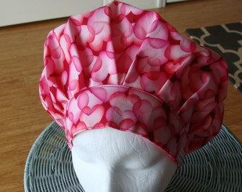 Sweet Heart Bouffant Style...............Surgical Hat....Bakers Hat