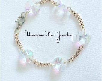 Cotton Candy Crystal Bracelet