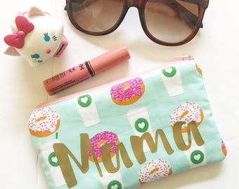Coffee + Donuts Mama Pouch