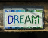 Dream Sign in Blue Green ...