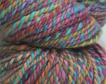 Bodacious -- Handspun, Hand Dyed, Cashmere, 4oz/113gr,  112 yds/102 m