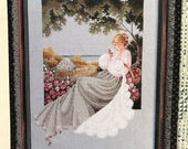 Nantucket Rose by Mariyn Leavitt-Imblum - Counted Cross Stitch pattern - 1992 from Lavender and Lace