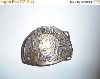 Closing Shop Sale 45% Off Vintage 70s COLUMBIAN   Columbia  Belt buckle   accessories mens men man clothing clothes