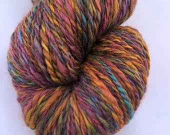 DREAMS OF SPRING, total luxury in a handspun wool, camel down, silk yarn. 288 yds/263 m, 2.8 oz/80 g