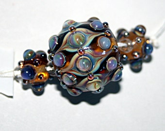 Lampwork  Art Beads by Jeanniesbeads #1729