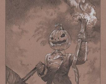 Samhain 12x18 Print