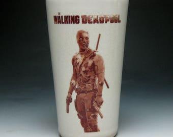 The Walking Deadpool Tumbler
