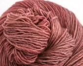 Olana fingering weight cormo alpaca angora blend yarn 300yds/274m 2oz/57g Rosy