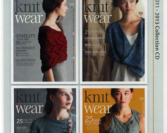 Knit Wear Magazine: 2011 - 2013 Collection CD