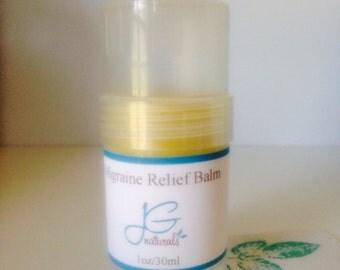 Migraine Relief Balm Pure Essential OIls
