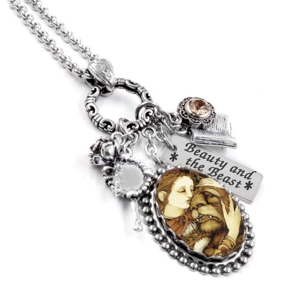 Beauty and the Beast Beauty and the Beast Necklace Beauty