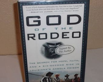 God of the Rodeo-Daniel Bergner-HB Book-1st Edition, Signed By Author