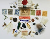 50+ Piece Mini Curio Collection in an Altered Matchbox