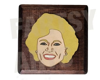 Golden Girls - Rose Artwork - Customizable