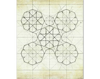 Geometry Sketch Nine // archival print