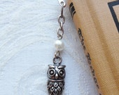 Wise Owl with Pearl Moon, Bookmark