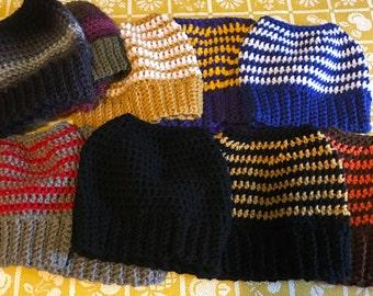 Messy Bun Mom Hat