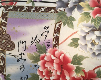 Cart and Scroll in white Hanabi for QH Textiles HH201205 11D