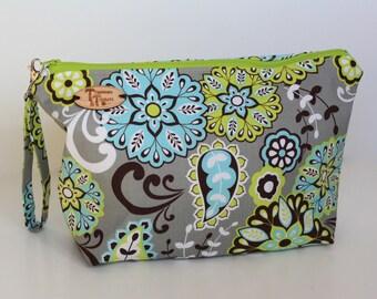 Modern Floral Project Bag