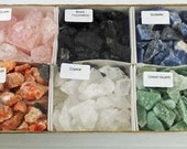 Rough/Raw Crystals & Stones set  5 POUNDS!  best place to buy crystals-gemstones , crystal shop, healing crystals, tumbled stones,