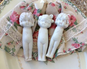 Vintage Bisque Frozen Charlotte Dolls Made in Japan