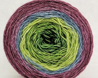 Hummingbird Panoramic Gradient, 150g Fairydust, dyed to order