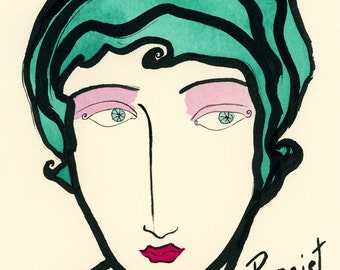 Persist- Art Print, Persist Print, Persistance, Nevertheless She Persisted, Resist, Resistance, Feminist, Feminsism,Feminist Art